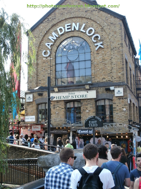 Camden Lock Market. London. El Mercado de la Esclusa de Camden. Londres.