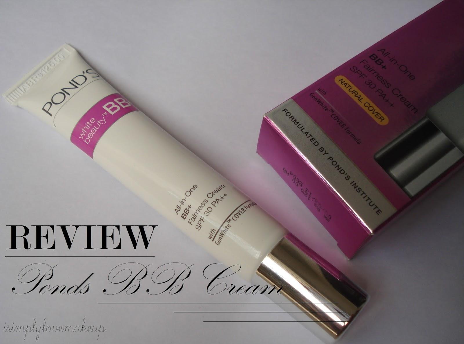 Ponds BB+ Cream Review