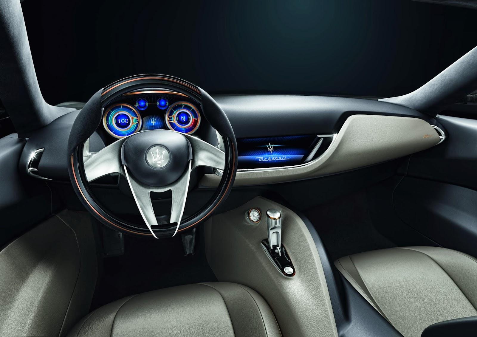 2014 Maserati Alfieri Concept interior