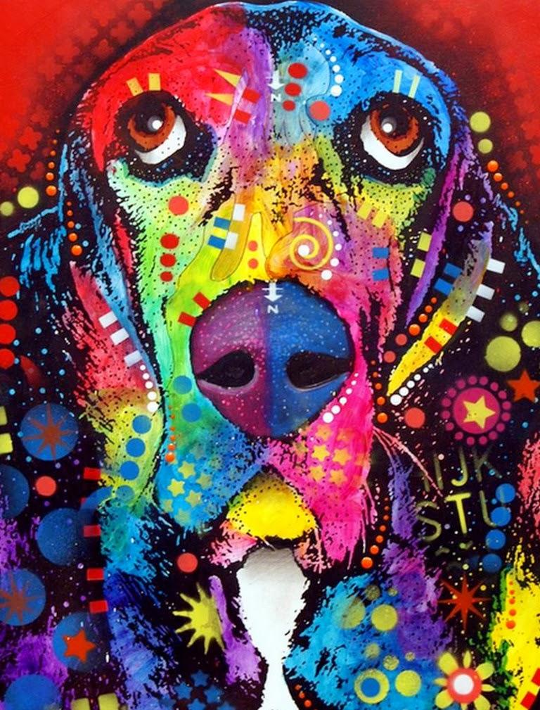 Cuadros pinturas oleos cuadros modernos con perros pop art - Fotos y cuadros ...