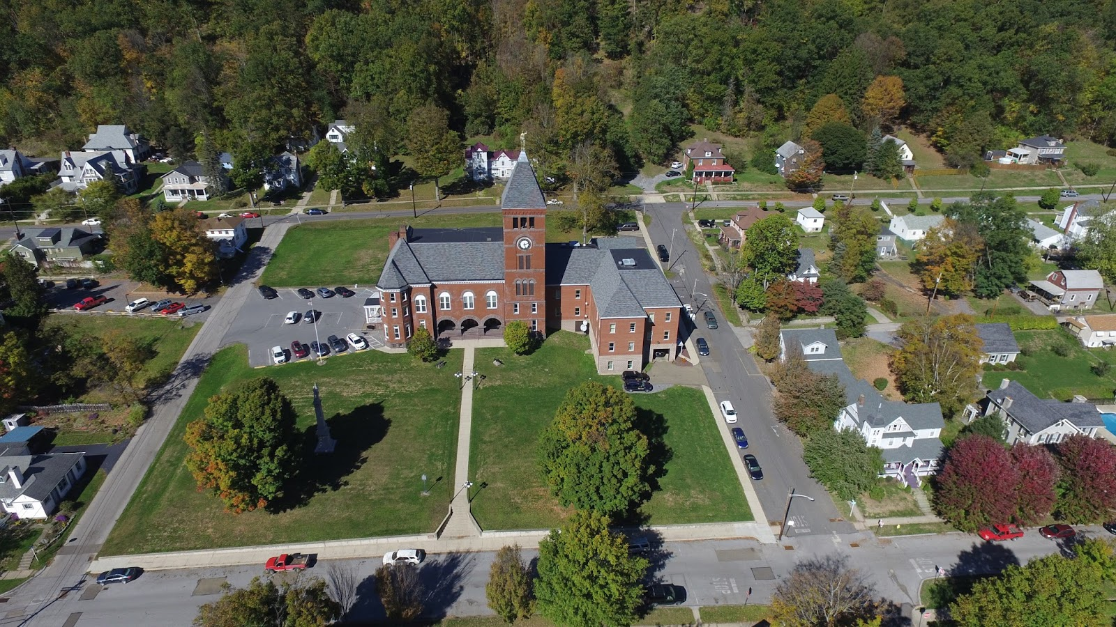 The Company Has Flown Over St Marys Dubois And Other Cities In Region Will Post Emporium Video On Web Site Droneguyspa