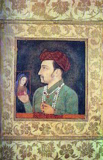 Portrait of Gehangir, Mughal