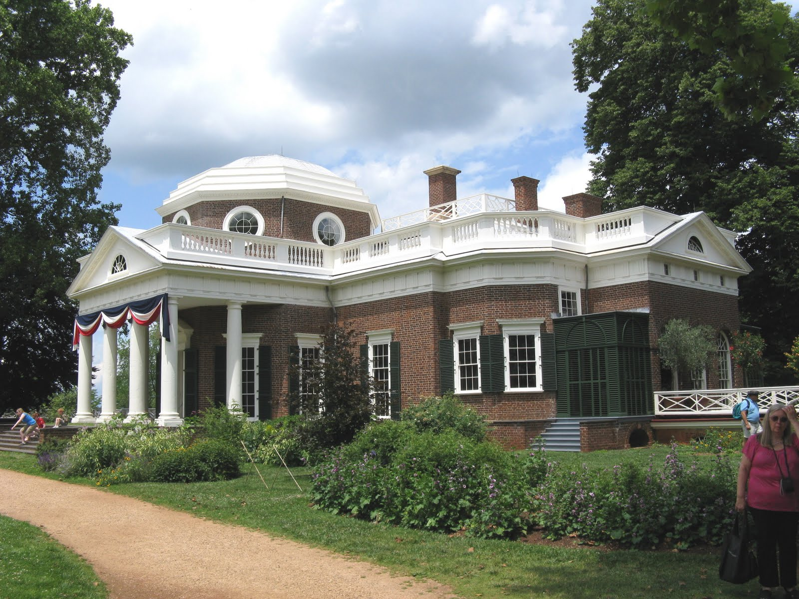 Monticello (IL) United States  city photo : ... , Va. is one of the most visited homes in the United States