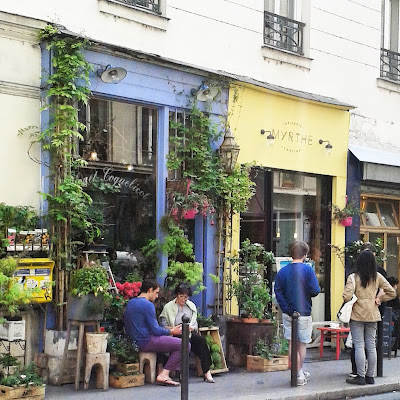 Fleuriste / Paris / Photos Atelier rue verte /