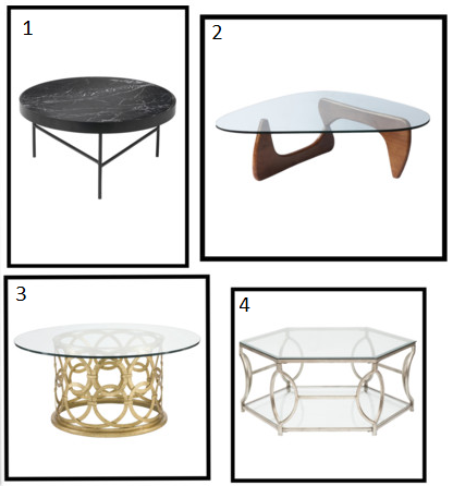 mint nest: modern-contemporary coffee tables