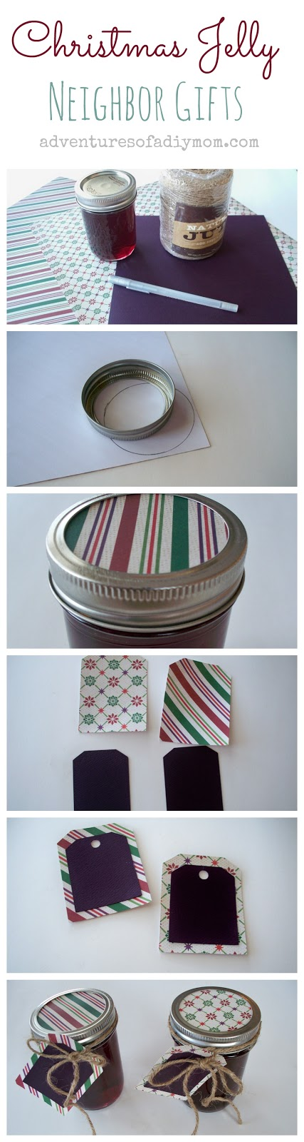 Christmas Jelly - Neighbor Gifts