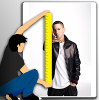 How tall is Eminem