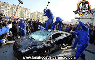 Lambo crash tuning