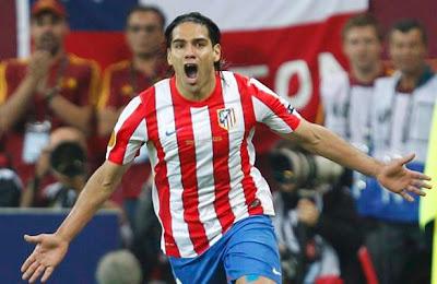 Con golazos de Falcao, el Atlético sumó su primera victoria