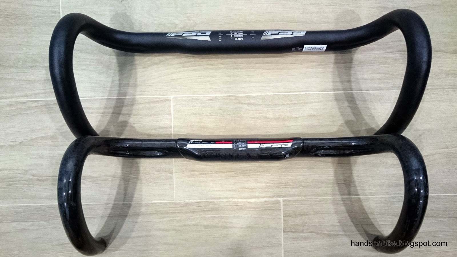 Comparing the compact aluminium handlebar with the new compact carbon handlebar & Merida Scultura 5000: FSA K-Force Compact Road Handlebar | Hands On Bike
