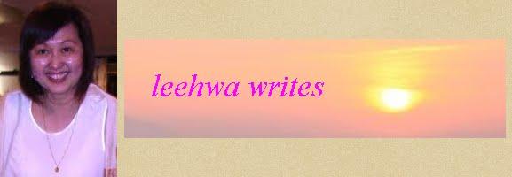 leehwa writes