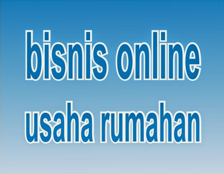 bisnis online usaha sampingan rumahan