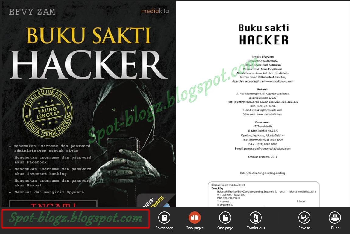 Download Buku Sakti Hacker Terbaru V.2 Gratis
