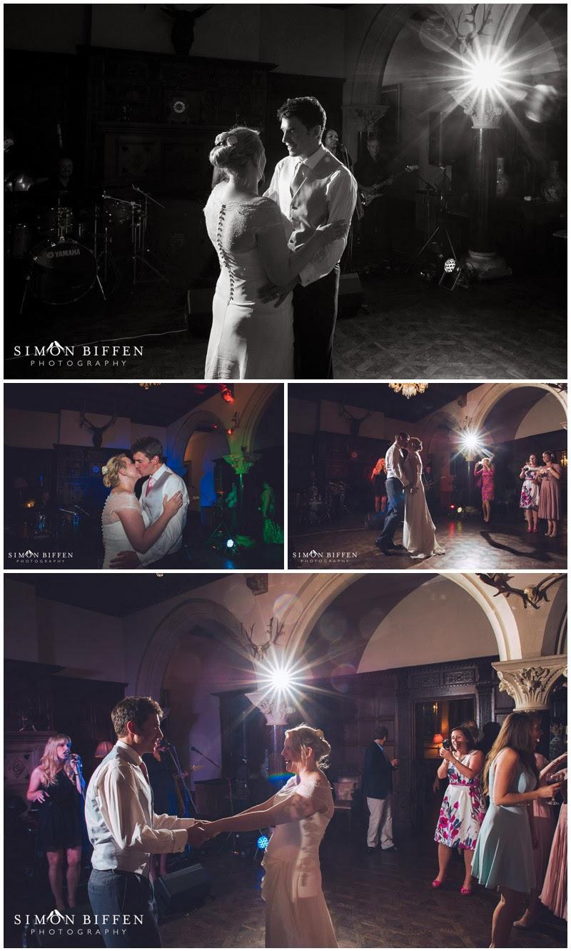 Wedding first dance photography at Huntsham Court