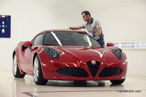 Alfa Romeo 4C QC