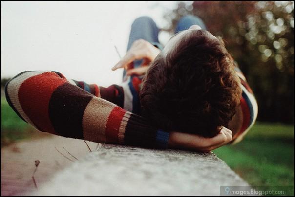 Sad, alone, boy, thinking, cute
