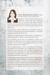 Olanchito,literatura de Olanchito, Honduras, Maria Teresa Ramos