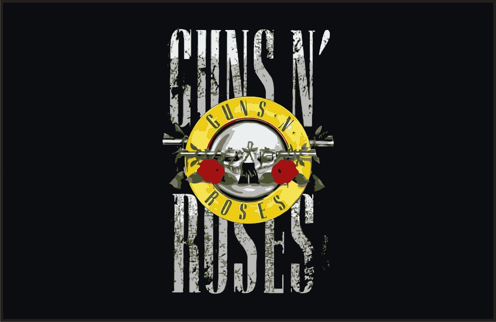 Guns N Roses Logo Vector T Shirts