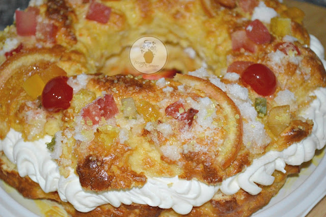 Roscón de reyes (Gluten Free)