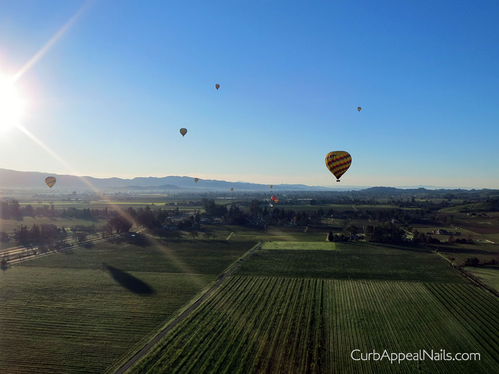 Hot Air Balloon Ride in Napa for Valentine's Day 2015