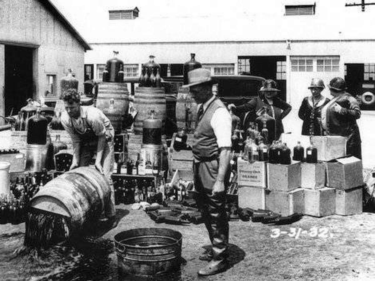 an analysis of the prohibition of intoxicating liquor in america American council on alcohol problems records:  and information concerning other cases related to prohibition and liquor  is it intoxicating liquor.