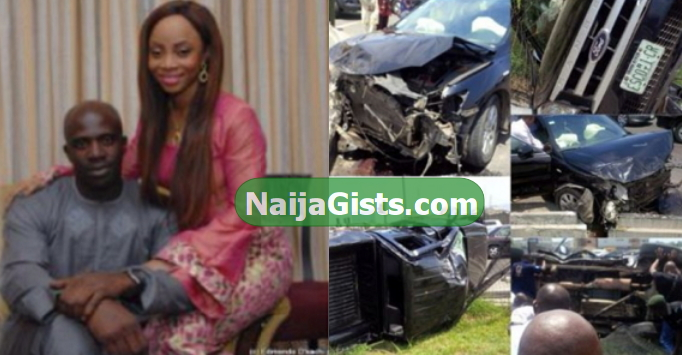 toke makinwa fiance car accident lagos