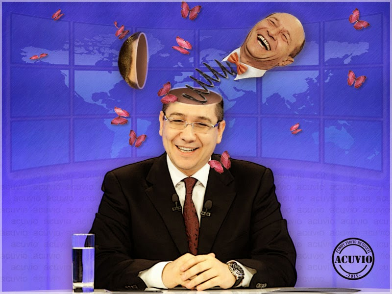 Victor Ponta Preşedinte funny photo