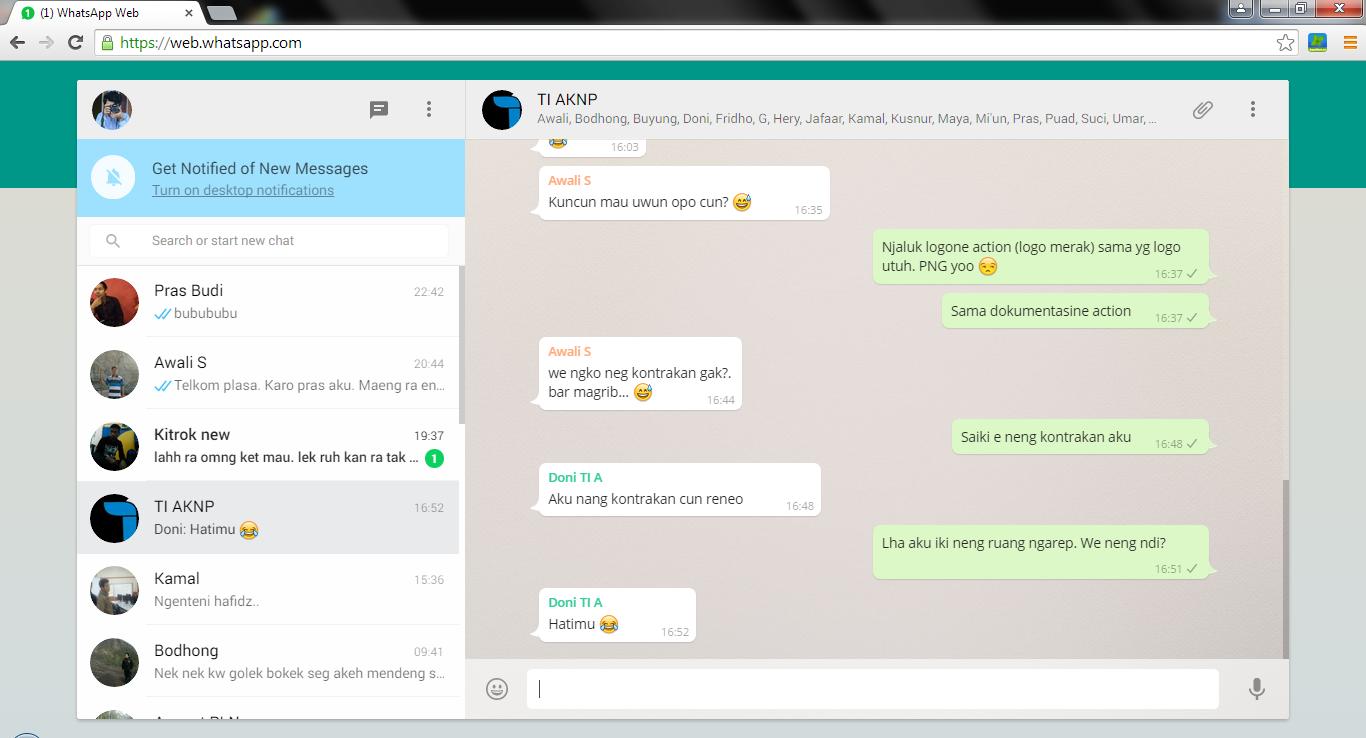 Cara Mudah Menggunakan WhatsApp dari PC Desktop