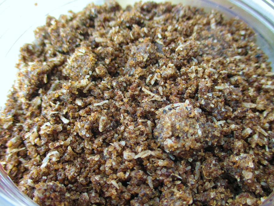 Haconut Coconut Scrub Close Up notesfrommydressingtable.com