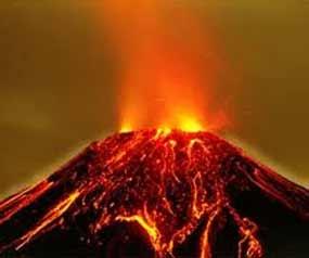 La estela de lava del volc n ploski tolbachik amenaza for Temperatura lava