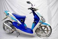 Sepeda Motor Mio Krom