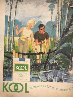 Antigua publicidad de cigarros 1