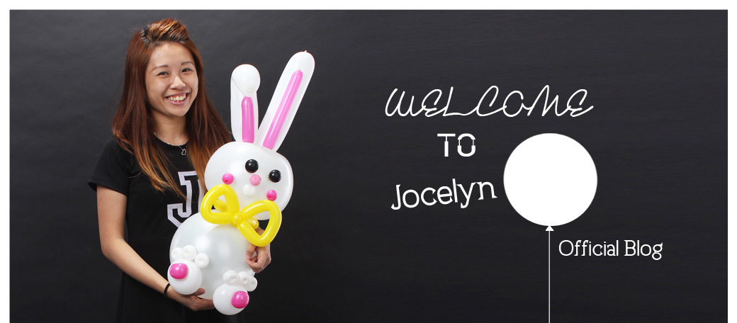 Jocelyn Ng Professional Balloon Artist Blog | Balloon sculpting Singapore