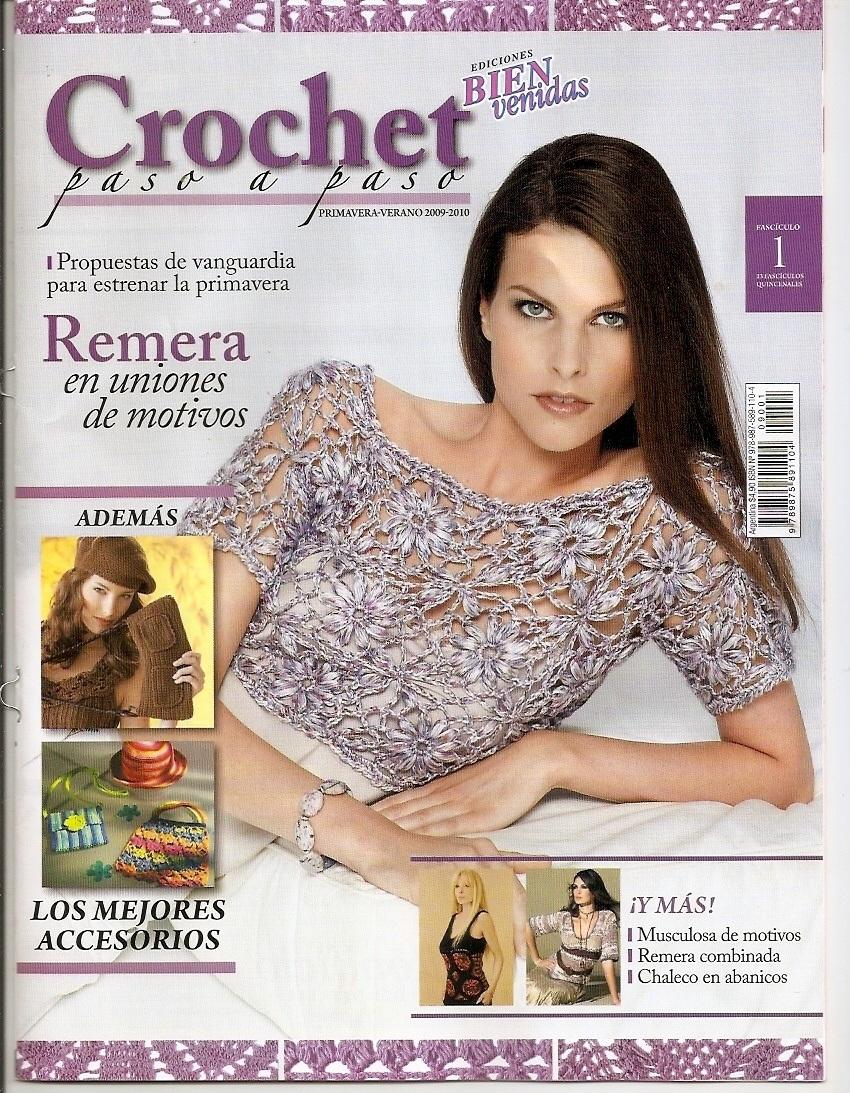 REVISTAS DE MANUALIDADES PARA DESCARGAR GRATIS: Crochet paso a ...