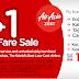 Air Asia P1 Base Fare Sale