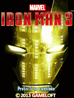 Homem de Ferro 3 240×320 touch