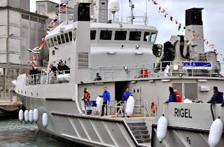 KRI Rigel 933 di Klim Sebagai Kapal Laut Tercanggih Di Asia