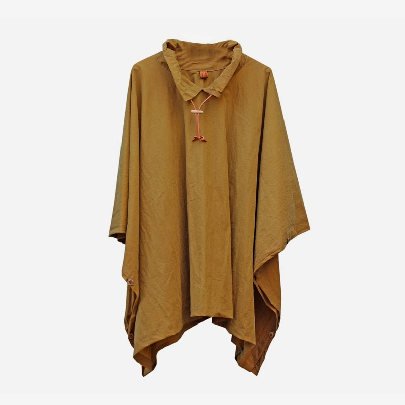 Ma Bicyclette - Buy Handmade - Clothing For Women - CARRIER COMPANY - Luxury Short Rain Cape Coat