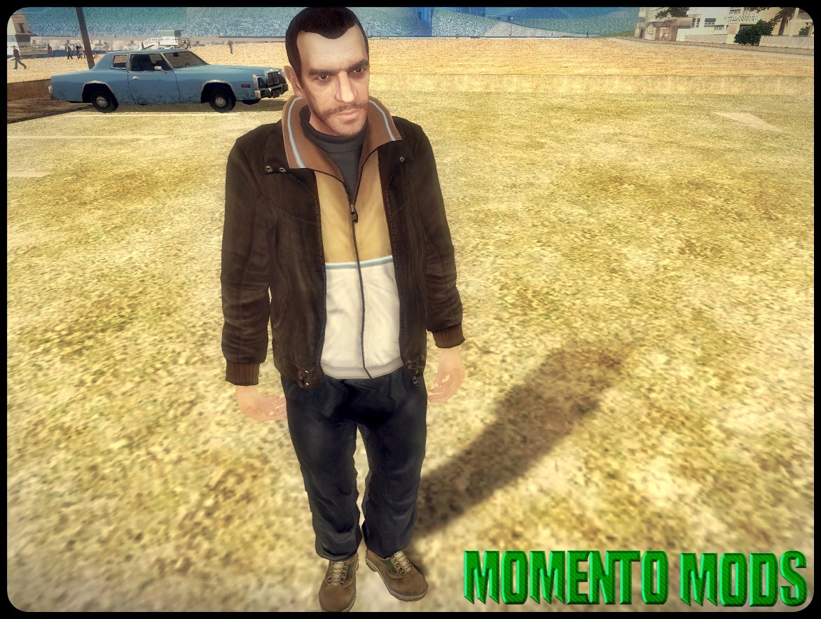 GTA SA - Skin Niko Bellic HD (Player.img)