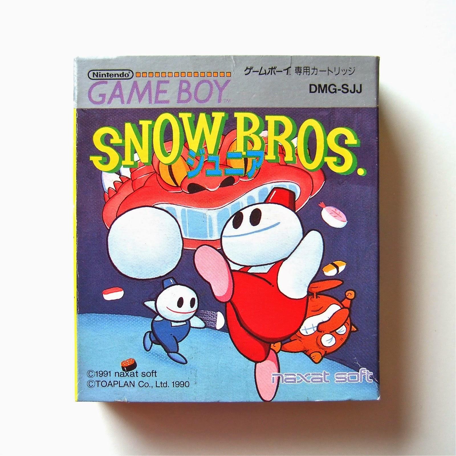 Snow Bros Sprite is 1991's Snow Bros