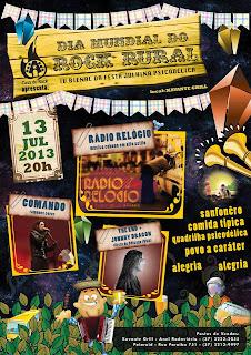 Comemore o Dia Mundial do Rock na Casa du Rock - Divinópolis-MG