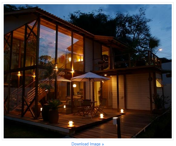 model interior rumah dari kayu jati