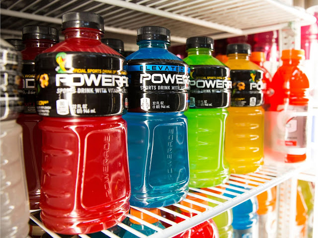 Sugar and water could be better for athletic performance than sports drinks