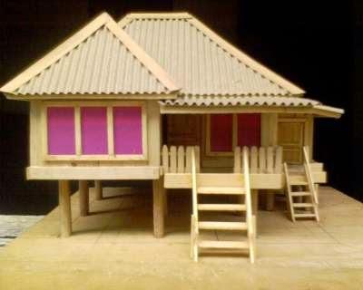 Miniatur Rumah Replika Rumah