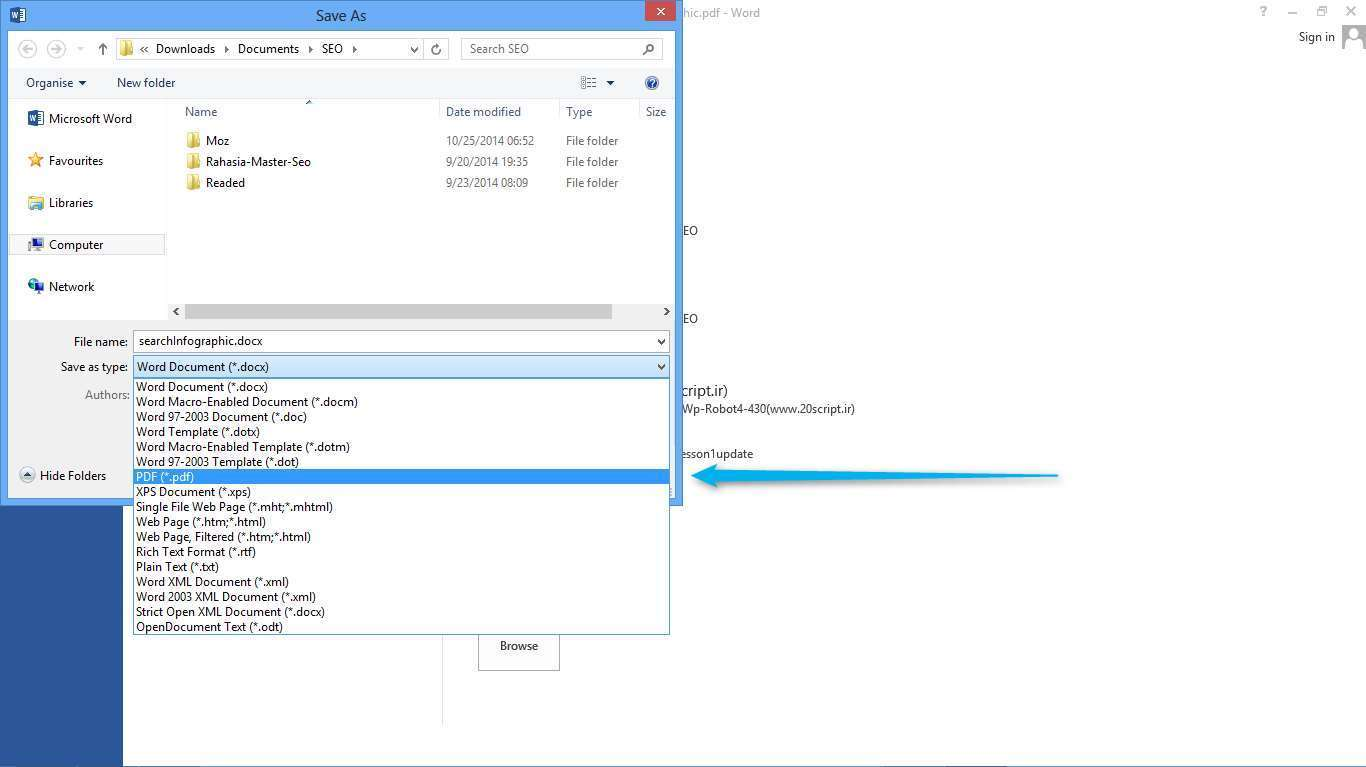 Cara Memperkecil Ukuran File PDF dengan MICROSOFT WORD 2