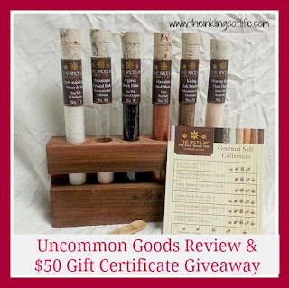 Uncommon Goods Review and Giveaway