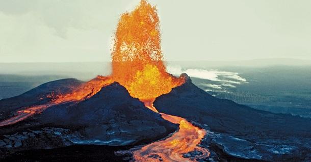 E se todos os vulcões entrassem em erupção?