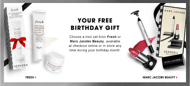 Sephora Birthday Gift 2016