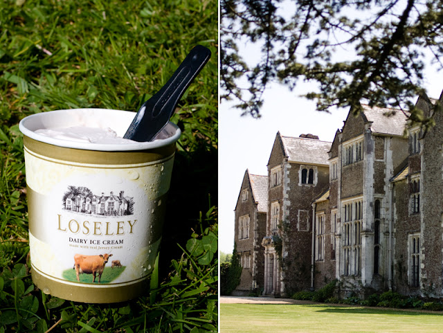 Loseley ice-cream