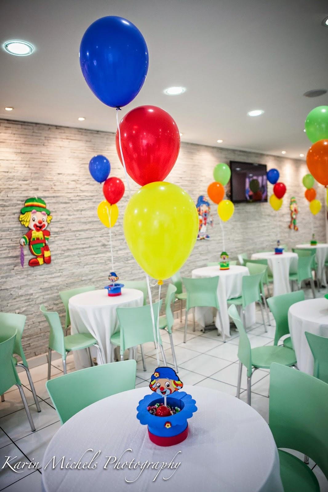 Detalhe Balões: Decoração com balões do Patati Patata no ...